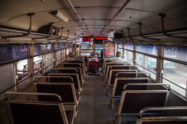An old bus at Sri Lanka.