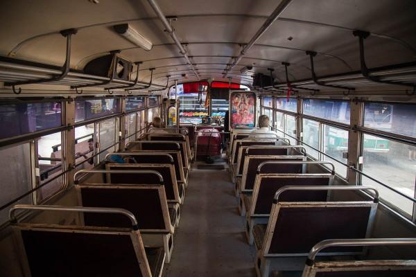 An old bus at Sri Lanka.
