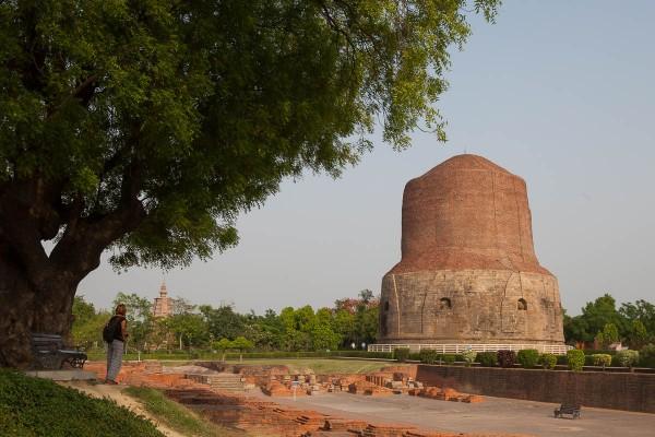 Dhamek Stupa near Varanasi, India