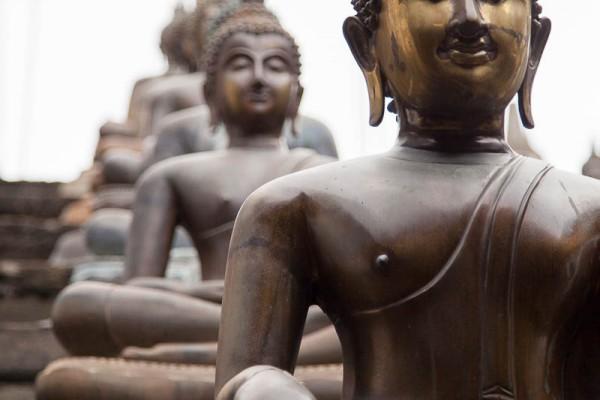 Statues at Sri Lanka.