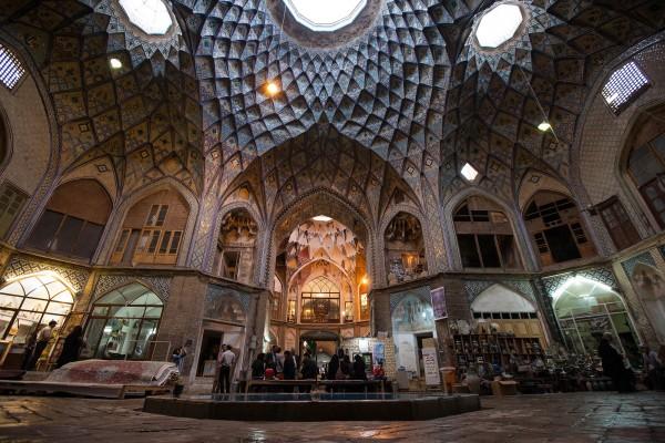 Bazaar of Kashan, Iran