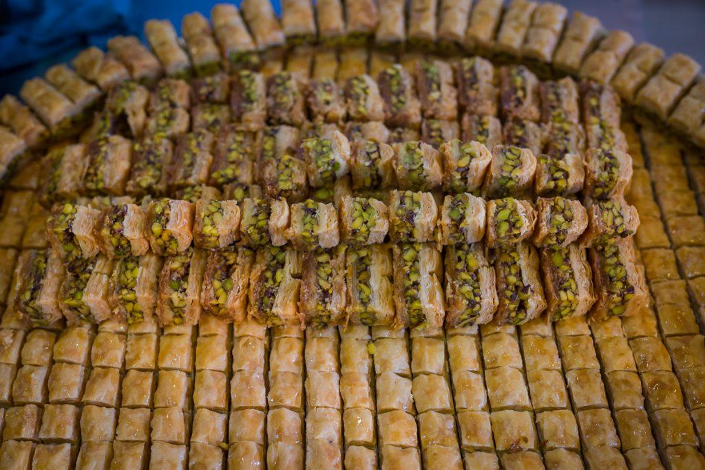 Sweets in a shop in Duhuk / Dohuk, Iraqi Kurdistan