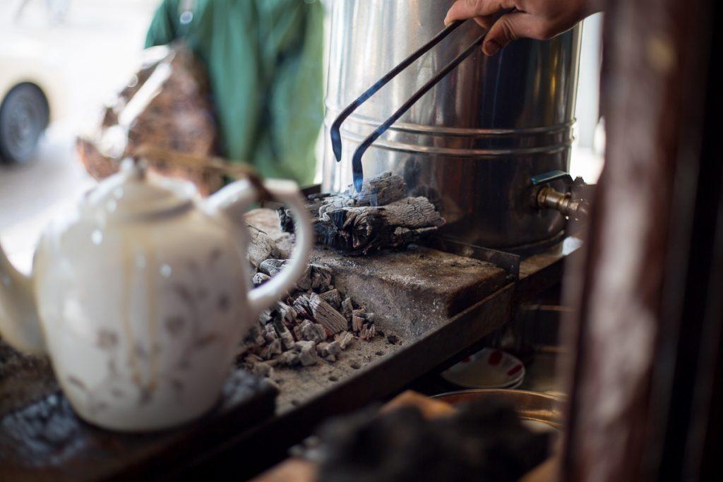 Couple of tea pots the Bazaar in Sulaymaniyah, Iraq