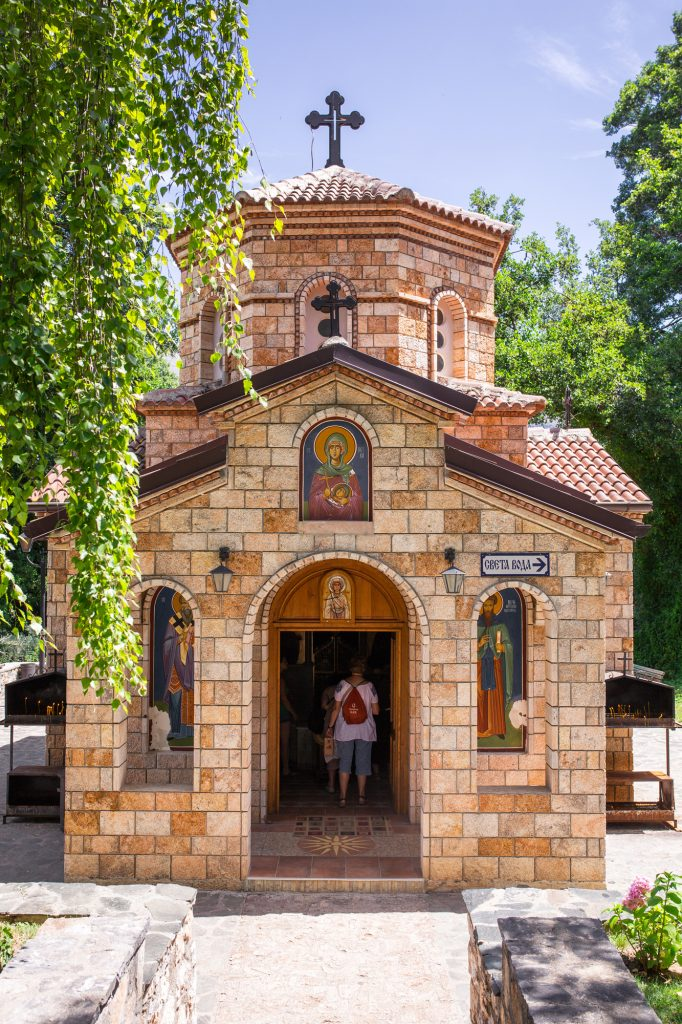 A small church in Macedonia.