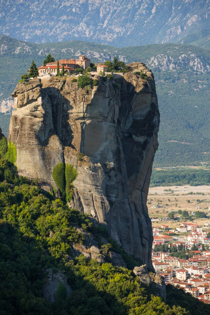 The Holy Trinity Monastery at Meteora, Greece
