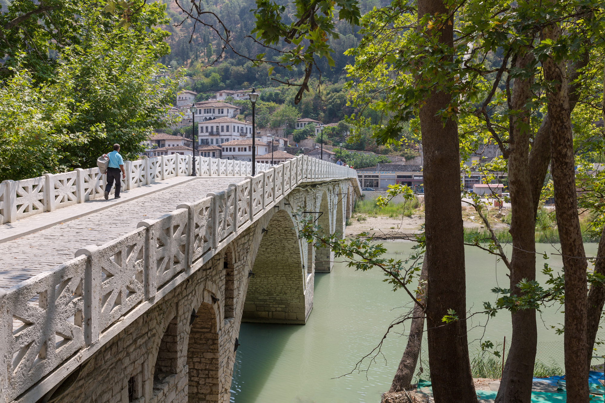 A bridge in Albania.
