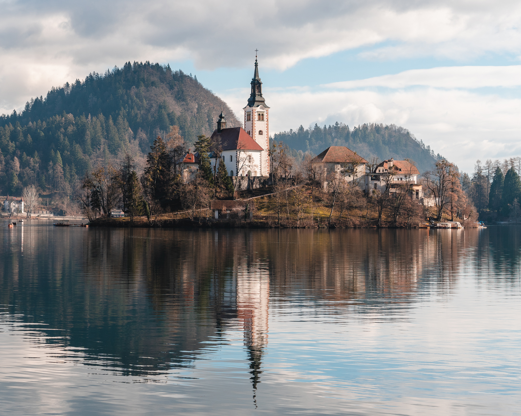 Assumption of Mary Pilgrimage Church on Lake Bled Island