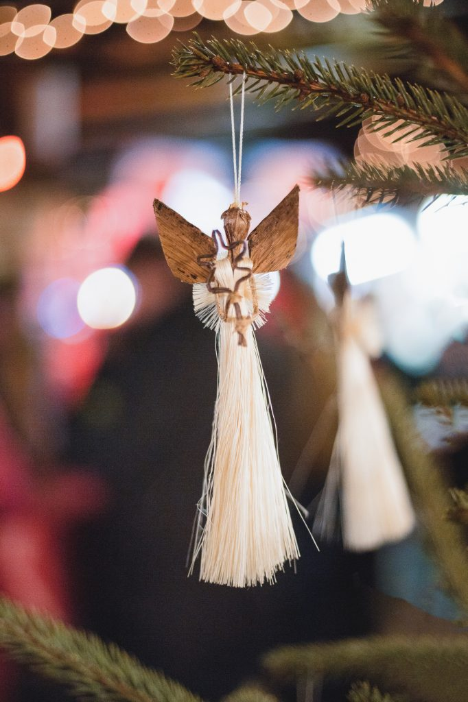 A souvenir at the Christmas market in Klagenfurt, Austria
